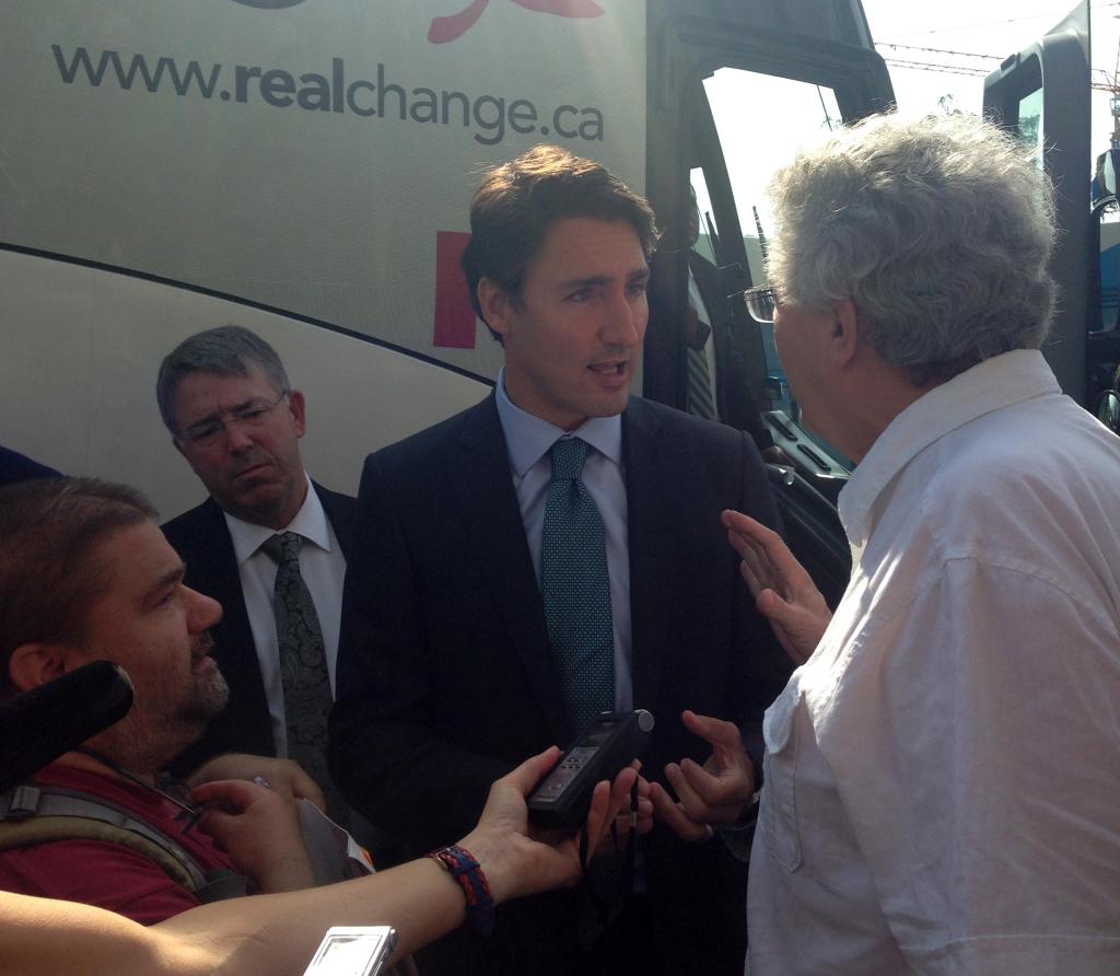 FS Trudeau devant HDV_3sept2015_1 copie