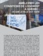 Améliorer les conditions de logement à Québec