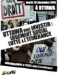 Manifestation à Ottawa